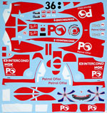 ARTEFICE 1/18 1/18 FULL SPONSOR RA106 DAVIDSON TURKEY 06 for PMA