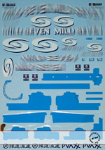 ARTEFICE 1/18 1/18 FILL IN DECAL for PMA RENAULT R26