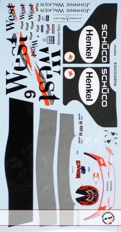 ARTEFICE 1/18 MCLAREN MP4/20 RAIKONEN CAR & HELMET
