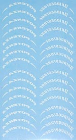 ARTEFICE 1/20 1/20 DRY TRANSFER BRIDGESTONE DECAL for TAMIYA