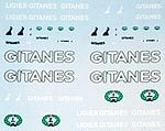 ARTEFICE 1/43 GITANES FILL IN DECAL LIGIER JS11 MINICHAMPS PMA
