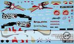 ARTEFICE 1/43 DECAL BAR HONDA 006 DAVIDSON GP BRASIL 04