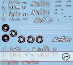 ARTEFICE 1/43 1/43 FULL SPONSOR FERRARI F2007 DECAL for TAMEO