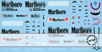ARTEFICE 1/43 1/43 FILL IN DECAL McLAREN MP4/5 for PMA
