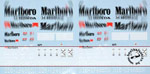 ARTEFICE 1/43 1/43 FILL IN SPONSOR McLAREN MP4/7 DECAL for PMA