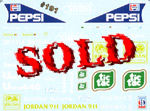 F1 SPECIALTIES 1/20 7-UP DECAL Tamiya 20032 1991 Jordan 191