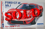 FUJIMI 1/24 FORD GT40 MK1