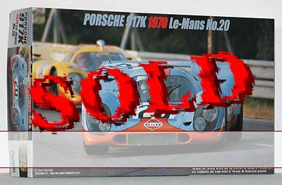 FUJIMI 1/24 PORSCHE 917K <br>Le Mans 1970 No.20