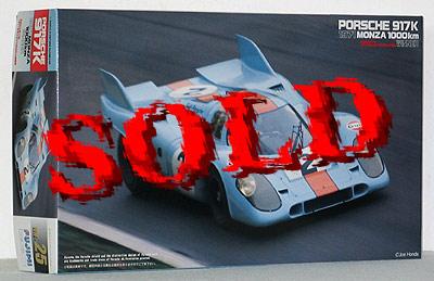 FUJIMI 1/24 PORSCHE 917K<br> 1000km MONZA 1971 Winner