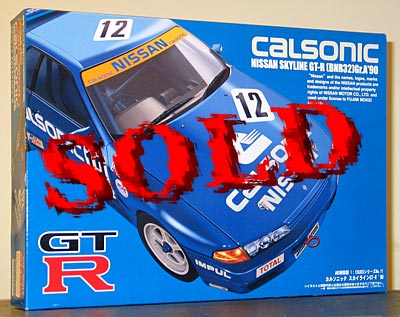 FUJIMI 1/12 NISSAN R32 SKYLINE GT-R CALSONIC Gr.A 19990