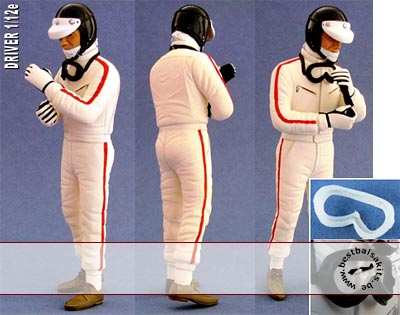 GF MODELS 1/12 1/12 60's DRIVER TAMIYA LOTUS 49 49B MS11 RA273