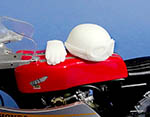 GF MODELS 1/12 60's BIKE HELMET HAILWOOD TYPE