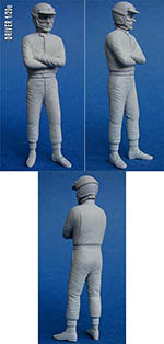 GF MODELS 1/20 60'S DRIVER FIGURE WAITING WITH ARMS CROSSED