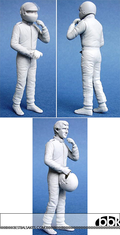 GF MODELS 1/20 PROST DRIVER FIGURE STANDING for MP4/2 MP4/2C