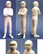 GF MODELS 1/20 PIQUET '82-'83 & '90 BT50 DRIVER FIGURE STANDING