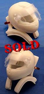 GF MODELS 1/20 HANS & HELMET for DRIVER FERRARI F2010 F248 F2007