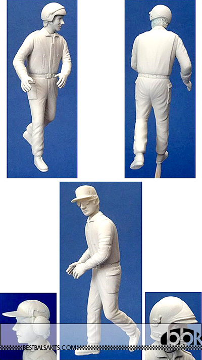 GF MODELS 1/20 MARSHALL 3 HEAD OPTION FIGURINI WALKING 90's- NOW