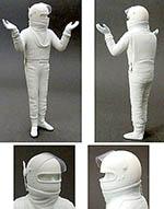 GF MODELS 1/20 STANDING VILLENEUVE HUNT SCHECKTER wearing HELMET