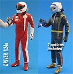 GF MODELS 1/24 MODERN F1 DRIVER FIGURE SHAKING HANDS (1)