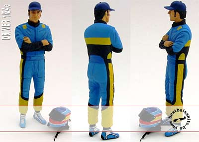 GF MODELS 1/24 1/24 ALONSO TRULLY R23 R24 DRIVER FIGURE REVELL