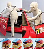 GF MODELS 1/24 2003-2007 RALLY DRIVER FIGURE