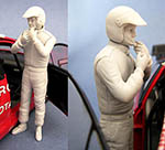 GF MODELS 1/24 2003-2007 RALLY CO-DRIVER FIGURE