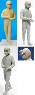 GF MODELS 1/24 1/24 70s DRIVER FIGURE REMOVING GLOVES
