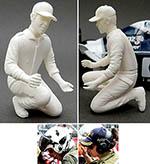 GF MODELS 1/24 MODERN AREA F1 MOTOR SPORTS DOCTOR FIGURE