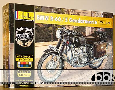 HELLER 1/8 BMW R60/5 R-60/5 GENDARMERIE POLICE