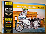 HELLER 1/8 BMW R60/5 R-60/5 POLIZEI GERMAN POLICE BIKE