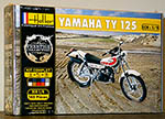 HELLER 1/8 YAMAHA TY 125 TY125 ENDURO BIKE MODEL