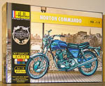 HELLER 1/8 NORTON COMMANDO