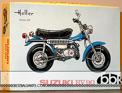 HELLER 1/8 HELLER 1/8 SUZUKI RV90