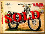 HELLER 1/8 HELLER 1/8 YAMAHA TY 125 TY125 BIKE MODEL KIT