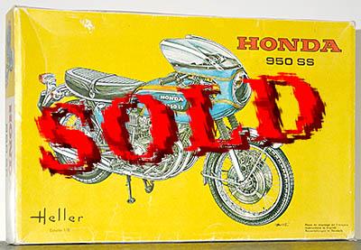 HELLER 1/8 HELLER 1/8 HONDA 950SS FOUR JAPAUTO