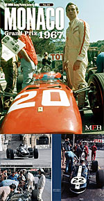 JOE HONDA NA REF PICTURE BOOK 1967 MONACO GP