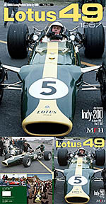 JOE HONDA NA LOTUS 49 1967 REF PICTURE BOOK CLARK HILL