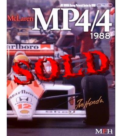 JOE HONDA  REF PICTURE BOOK McLAREN MP4/4 '88 (TAMIYA 1/20)
