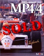 JOE HONDA  REF PICTURE BOOK McLAREN MP4/4 '88 (TAMIYA 1/20)