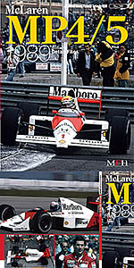 JOE HONDA NA McLAREN MP 4/5 SENNA 1989 REF PICTURE BOOK