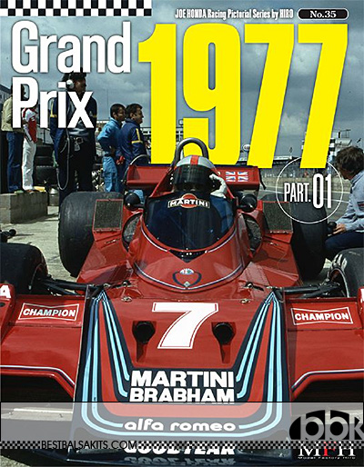 JOE HONDA NA 1977 F1 SEASON LOTUS78 BT45B JS7 DN8 March771 N177