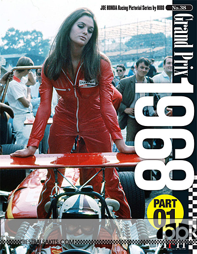 JOE HONDA NA 1968 F1 v1 McLAREN M7A FERRARI 312 COOPER EAGLE