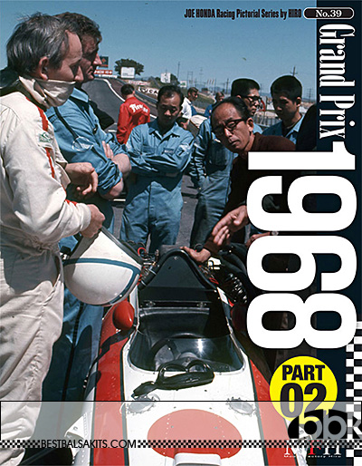 JOE HONDA na 1968 F1 SEASON REF PICTURE BOOK v2