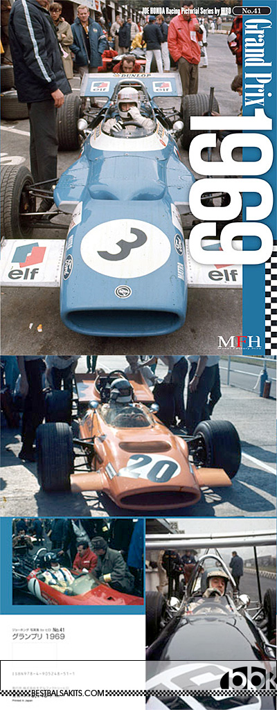 JOE HONDA NA F1 GRAND PRIX 1969 REF PICTURE BOOK