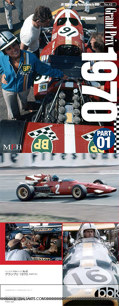 JOE HONDA NA GRAND PRIX 1970 REF PICTURE BOOK v1