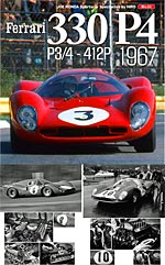 JOE HONDA NA REF PICTURE BOOK FERARRI 330P4 P3/4 412P '67