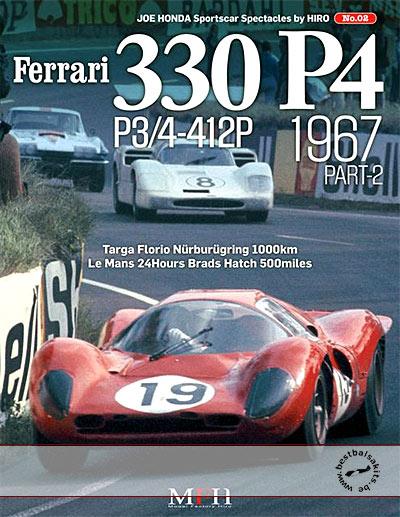 JOE HONDA  FERARRI 330P4 P3/4 412P 1967/2 REF PICTURE BOOK