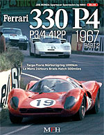 JOE HONDA  FERARRI 330P4 P3/4 412P 1967/2 REF PICTURE BOOK
