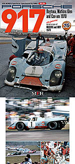 JOE HONDA 1/12 PORSCHE 917 DAYTONA GLEN '70 REF PICTURE BOOK