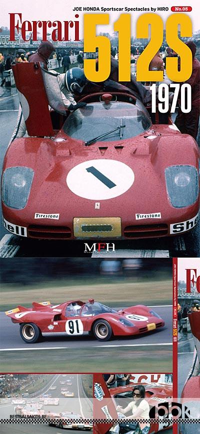 JOE HONDA NA FERRARI 512S 1970 REF PICTURE BOOK